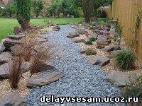 Устройство дорожек на даче - ландшафтный дизайн сада своими руками