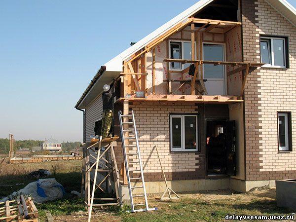 Технология строительства дома своими руками